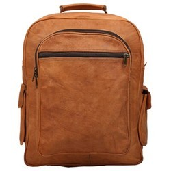 Genuine Leather Mac Book Backpack BP116