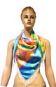Digital Printed Triangle Scarf