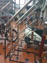 Glass Railing in Lucknow, कांच की रेलिंग, लखनऊ, Uttar ...
