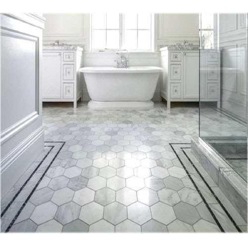 How To Put Up Tiles In A Bathroom: Bathroom Floor Tile At Rs 220 /box