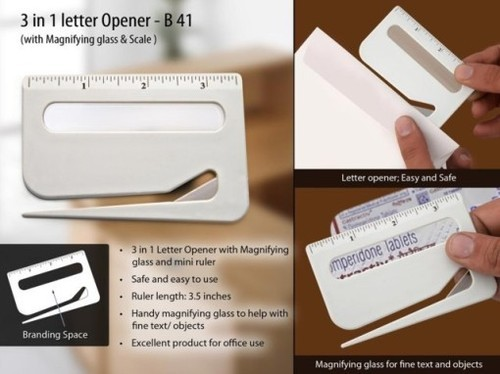 3 In 1 Letter Opener At Rs 21 Piece