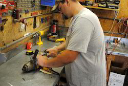 Repairing Power Tools Service Maintenance