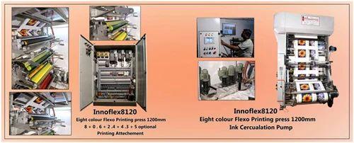 8 Colour Flexo Printing Press Machine