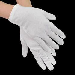 White Cotton Gloves for Kitchen