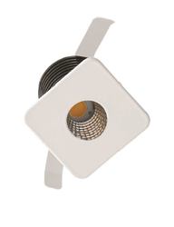 3W Square Cob LED Spot Light With Philips Driver