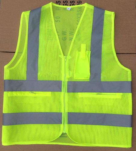 Security & Protection Safety Vest Traffic Fluorescent Light/ Mesh Vest Safety Clothing