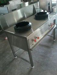 Commercial two burner