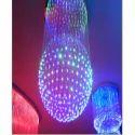 Led Ceiling Designer Fiber Optic Light Hanging Chandelier
