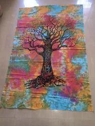 Tree Of Life Gobelin Mandala Tapestry
