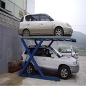 Double Car Parking Scissor Lift