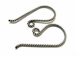 Silver Ear Wire
