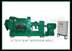 Rubber Refiner Mill  (Reclaim Rubber Machinery)