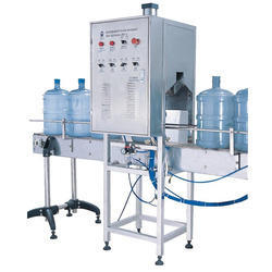 5 Gallon Semi Rinsing Filling Capping Machine