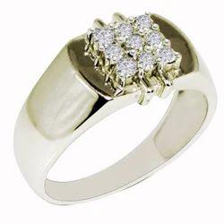 SHRI0588 Shiny Cz Men's Ring
