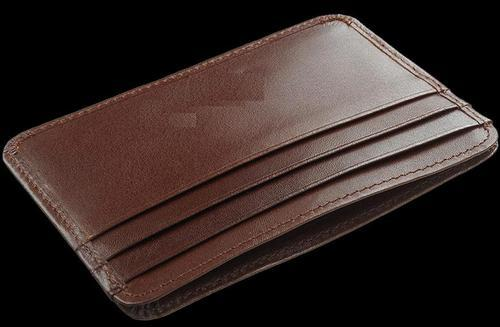 Mon Exports Leather Credit Card Holder