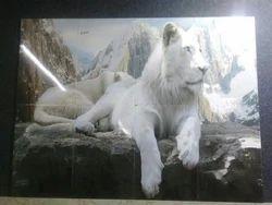 Lion Poster Tiles