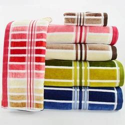 sun shine striped towel