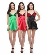 Short Length Cotton Ladies Nighthy, Size: Medium
