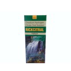 Rickcitral Disodium Hydrogen Citrate Syrup