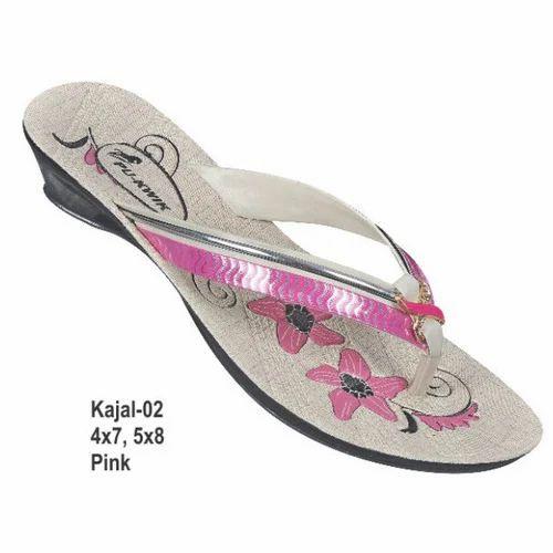 3368048aa35d Fancy PU Ladies Slipper at Rs 92  piece(s)
