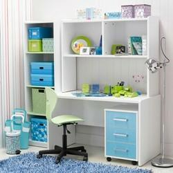 Kids Study Table with Utility Storage