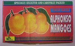 Printed Mango Packaging Corrugated Box