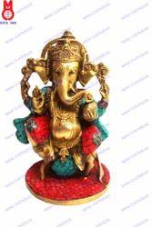 Ganesh Sitting Statue (On Rat)