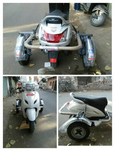 Honda Activa Side Wheel Attachment For Handicapped