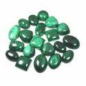 Green Malachite Cabochon Loose Gemstone Mix Lot