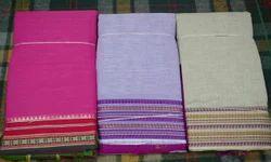 Plain Regular Wear Ladies Pure Cotton Dress Material