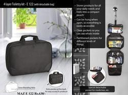 Taz E 122 4 Layer Toiletry Kit
