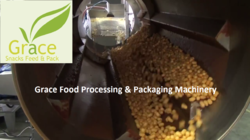 Inflating Core Filled Snacks Processing Line