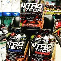 Nitro Tech 4lb Muscletech Protein Supplement