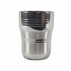 SS Tumbler Milk Glass