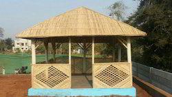 Wooden Bamboo Gazebo