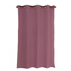 Cotton Yarn Dyed Woven Curtain, For Door, Size: 120x240