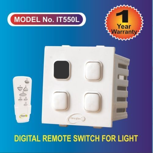 Digital Remote Control Switch For 3 Light 2 Mod