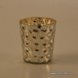 Glass Candle Votive Holder