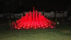 Red Color Water Fountain