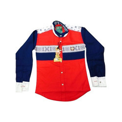 Cotton Regular Wear Kids Shirts