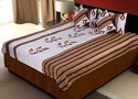 Jaipuri Silk Bed Linen Cushion N Pillow Covers 409