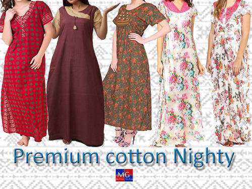 19257ade11 Nighty at Rs 150 /piece(s) | Ladies Night Dress | ID: 10773557988