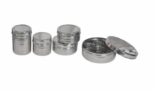 Stainless Steel Kitchen Storage Set at Rs 625 set Kitchen