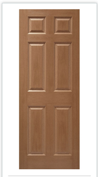 6 Panel Textured Moulded Doors