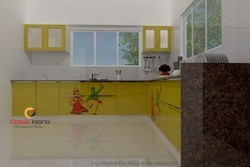Garba Design Modular Kitchen