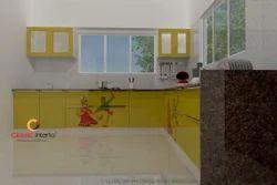 Garba Design Modular Kitchen