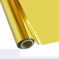 Golden Foil Fabric Roll