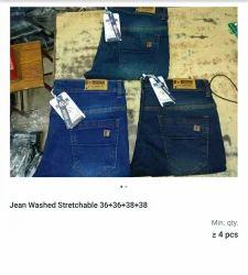 Blue Wash Denims & Trousers Mens Wear