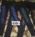 Cotton And Denim Slim Fit Jeans, Waist Size: 36