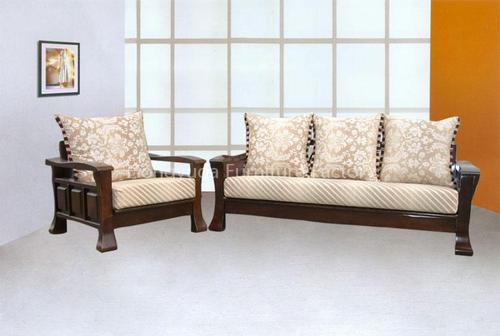 Teak Wood Sofa ~ Teak wood sofa set at rs piece kondhwa bk pune